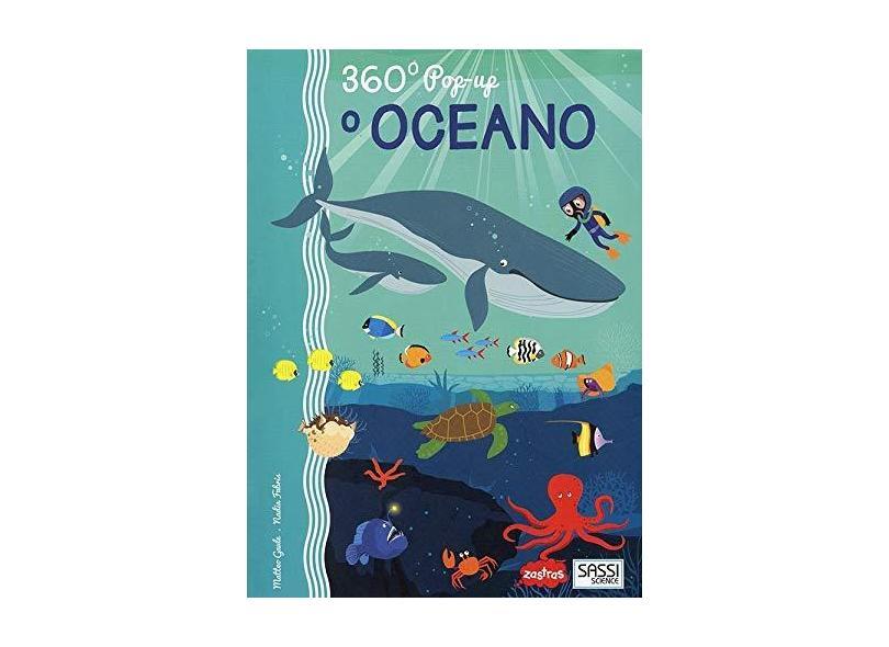 O Oceano. 360 Pop-Up - Matteo Gaule - 9788868607043