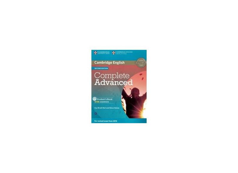 Complete Advanced Student's Book with Answers [With CDROM] - Capa Comum - 9781107670907