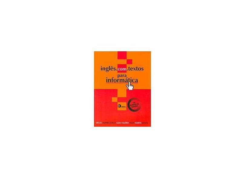 Inglês.com: Textos para Informática - Cruz E Outros - 9788590178514