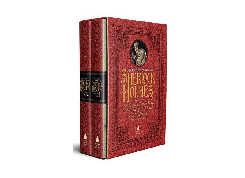 As Novas Aventuras de Sherlock Holmes - Caixa - Otto Penzler - 9788520932964