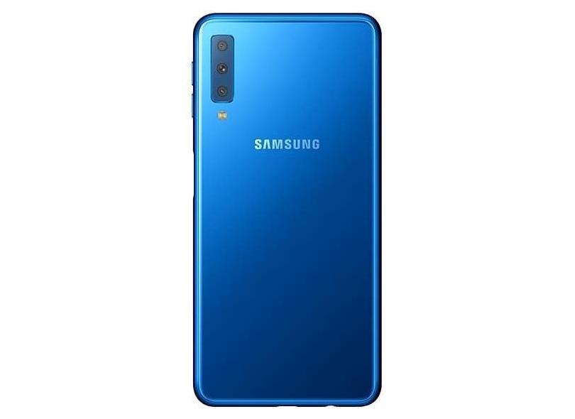 Smartphone Samsung Galaxy A7 2018 Usado 64GB Câmera Tripla Android 8.0 (Oreo)