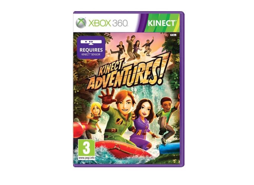 Jogo Kinect Adventures Microsoft Xbox 360