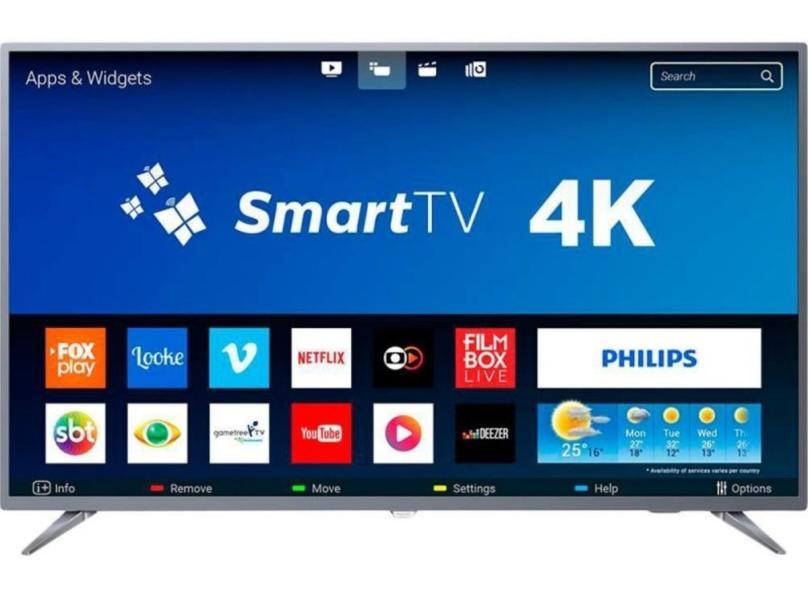 "Smart TV TV LED 58 "" Philips 4K HDR 58PUG6513 3 HDMI"