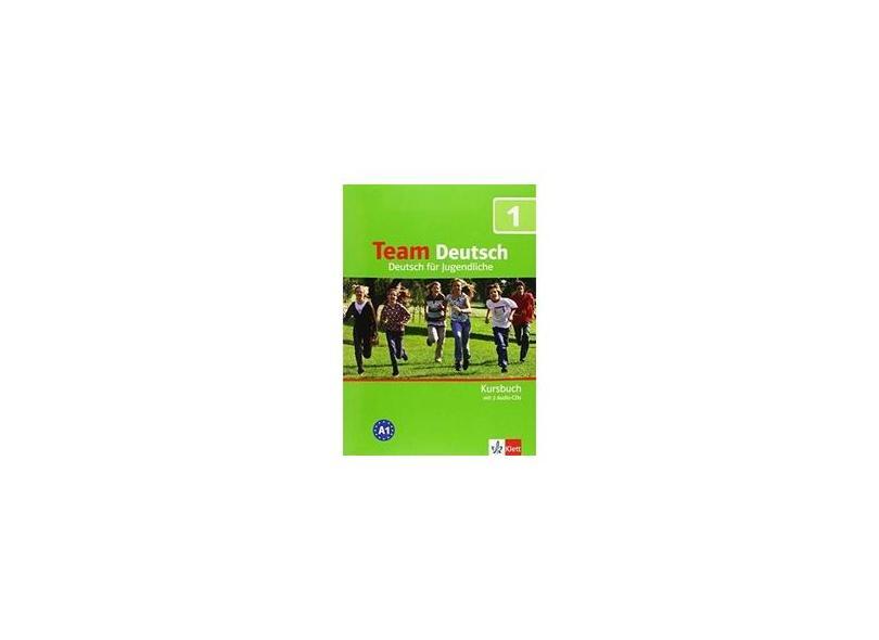 Team Deutsch 1 - Kursbuch mit 2 Audio-CDs - Deutsch für Jugendliche - A1 - Klett - 9783126759403