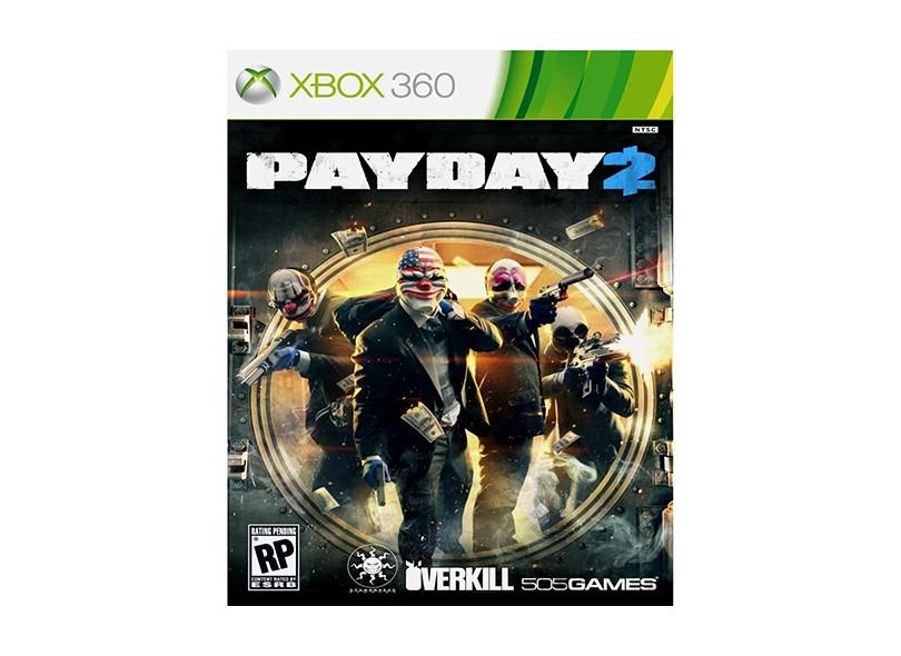 Jogo Payday 2 Xbox 360 505 Games
