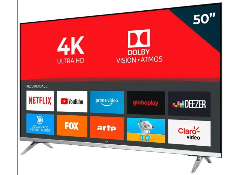 "Smart TV TV LED 50 "" AOC 4K HDR 50U6305 3 HDMI"