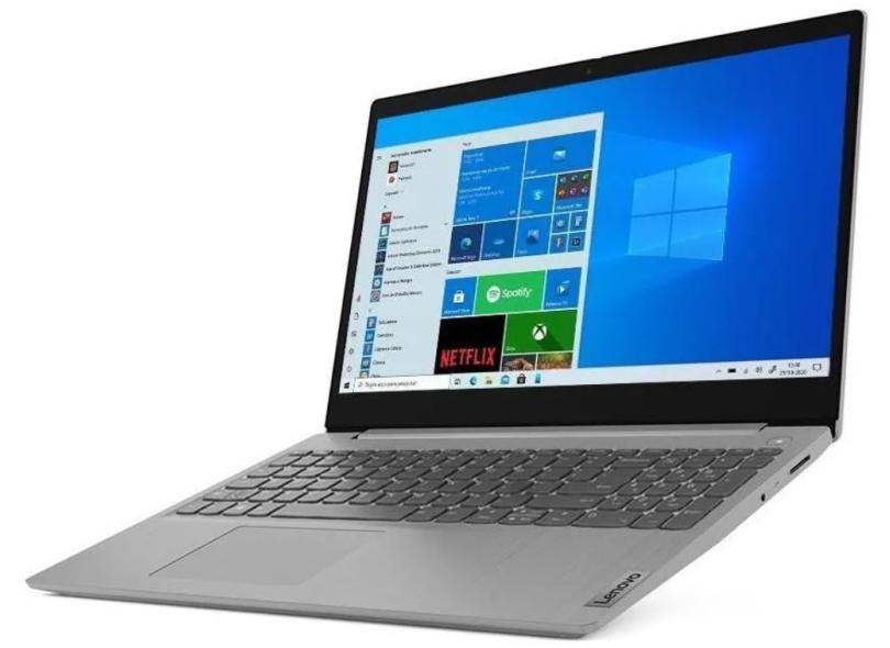 "Notebook Lenovo IdeaPad 3i Intel Core i5 10210U 10ª Geração 8.0 GB de RAM 256.0 GB 15.6 "" GeForce MX330 Windows 10 82BS0001BR"