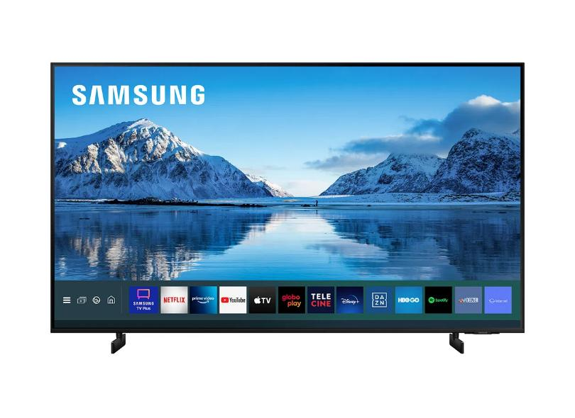 "Smart TV TV LED 50"" Samsung Crystal 4K HDR UN50AU8000GXZD 3 HDMI"
