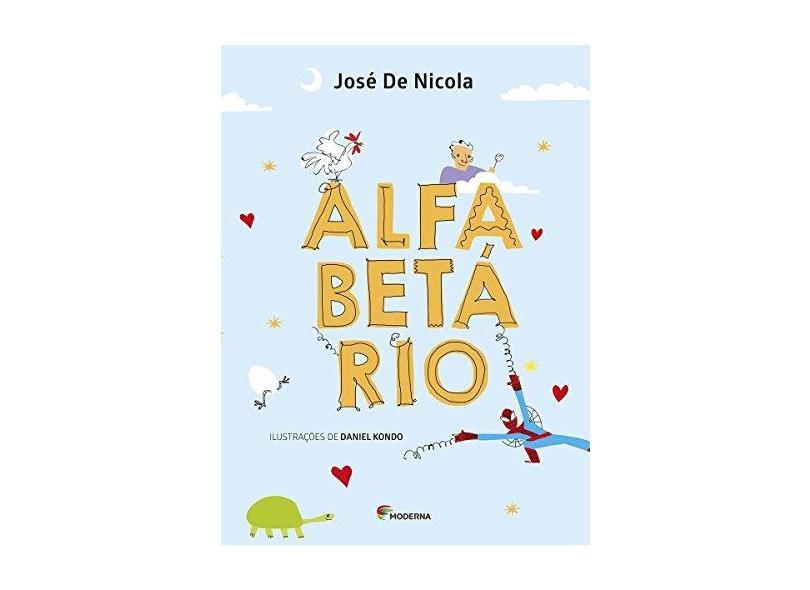 Alfabetário - Coleção Girassol - José De Nicola - 9788516105952