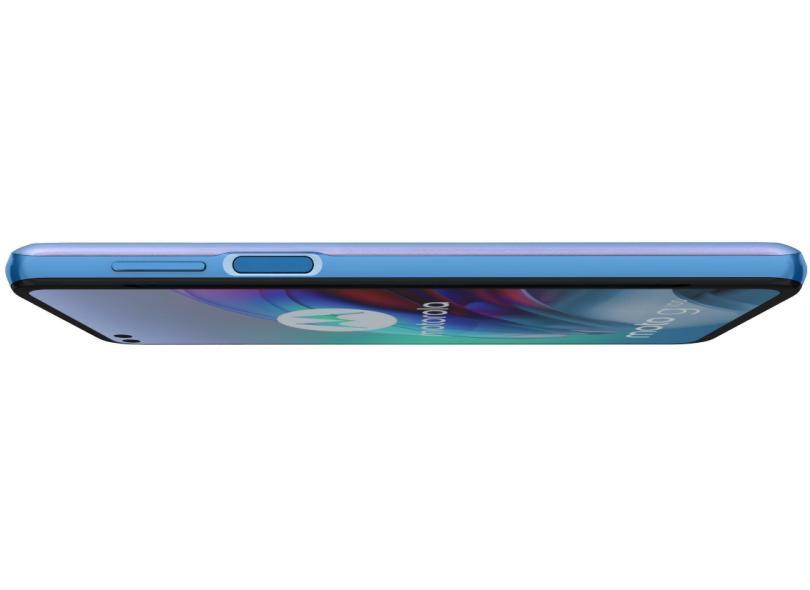 Smartphone Motorola Moto G G100 XT2125-4 12 GB 256GB Câmera Quádrupla Qualcomm Snapdragon 870 2 Chips Android 11