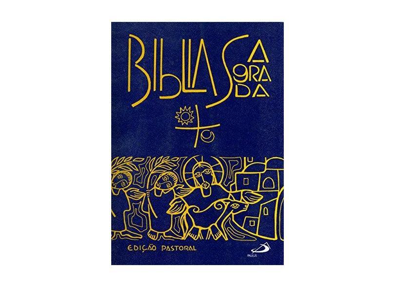 Bíblia Sagrada [Média Capa Cristal] - Ediçao Pastoral - 9788534912570