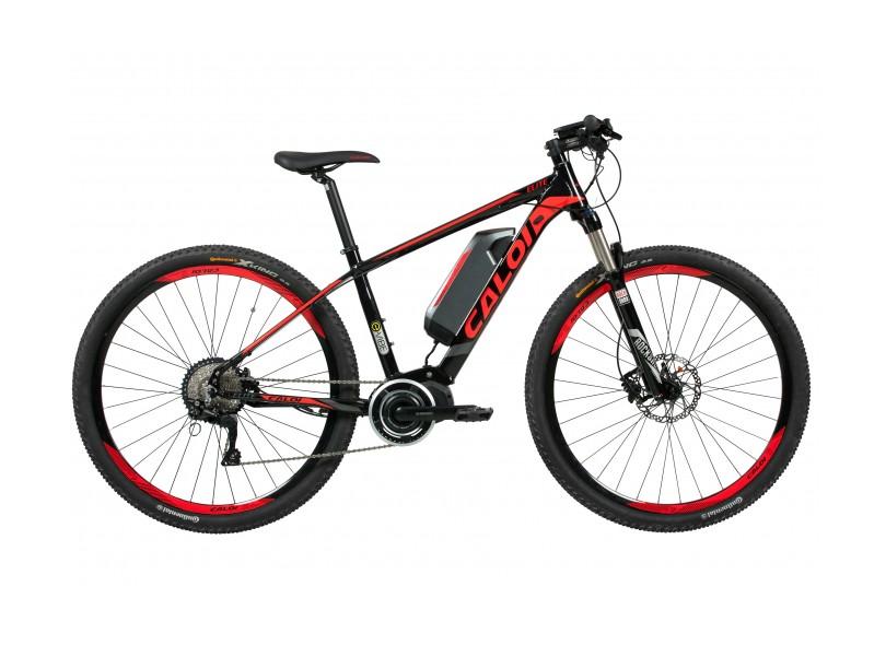 Bicicleta Elétrica Caloi 10 Marchas Aro 29 Suspensão Dianteira a Disco E-Vibe Elite