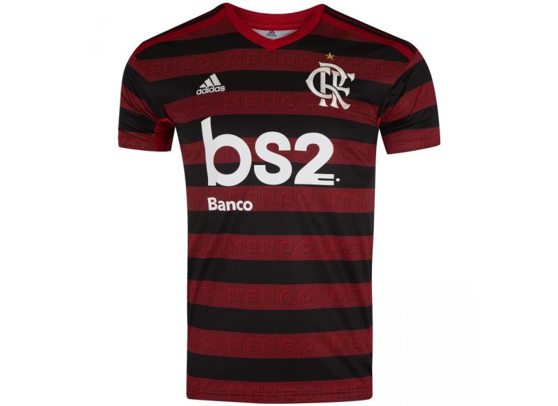 Camisa Torcedor Flamengo I 2019 Adidas