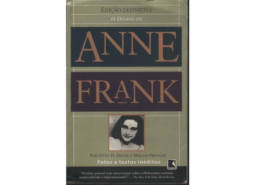 O Diário de Anne Frank : Edição Definitiva - Frank, Anne - 9788501044457