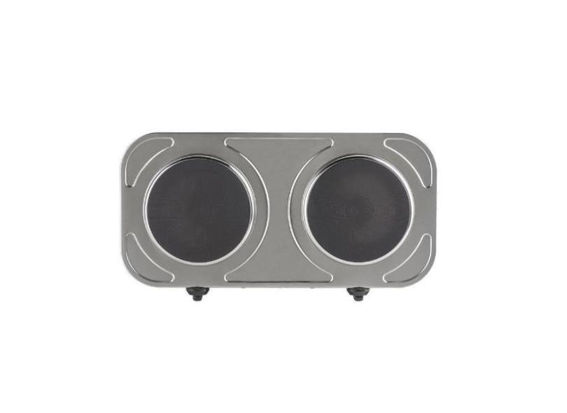 Fogão de Mesa Agratto 2 Bocas Acendimento Automático Acabamento Inox FM02220V