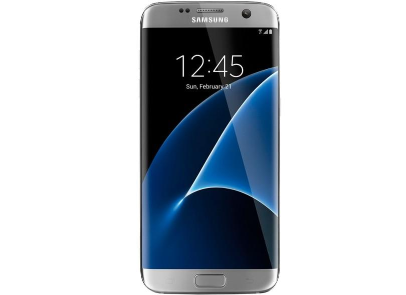 Smartphone Samsung Galaxy S7 Edge Usado 32GB 12.0 MP Android 6.0 (Marshmallow) 4G Wi-Fi