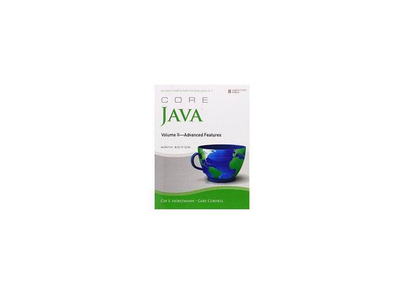 Core Java, Volume II--Advanced Features - Capa Comum - 9780137081608