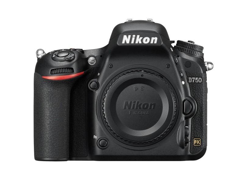 Câmera Digital DSLR(Profissional) Nikon 24.3 MP Full HD D750