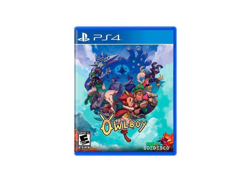 Jogo Owlboy PS4 Soedesco