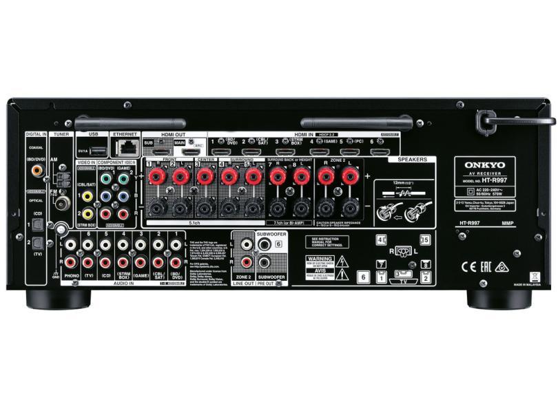Home Theater Onkyo 240 W 7.1 Canais 6 HDMI HT-S9800