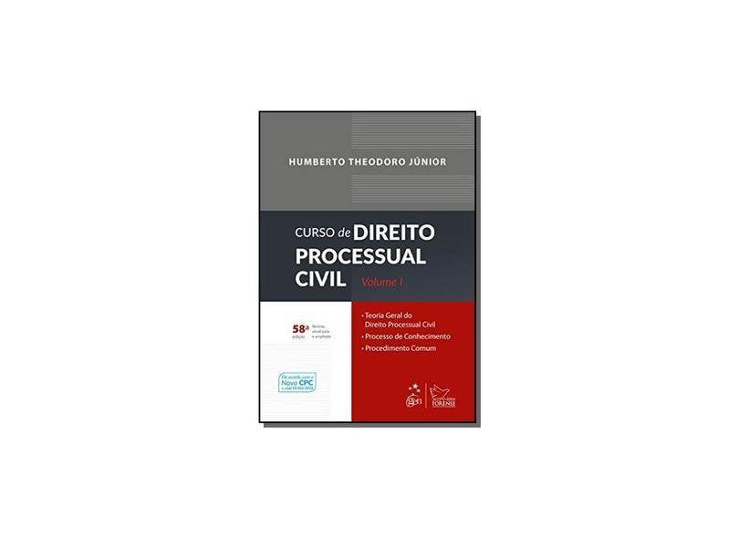 Curso de Direito Processual Civil - Volume 1 - Humberto Theodoro Júnior - 9788530973223