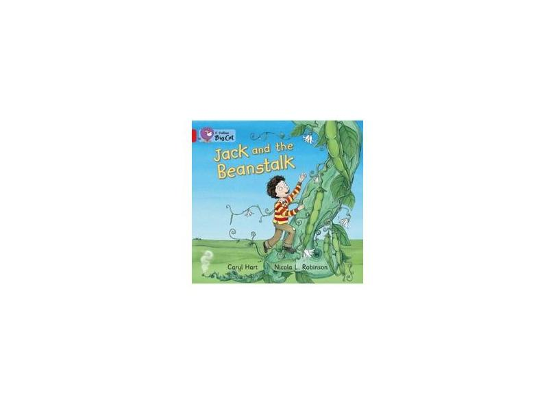 Jack and the Beanstalk: Band 02B/Red B (Collins Big Cat) - Caryl Hart - 9780007512751