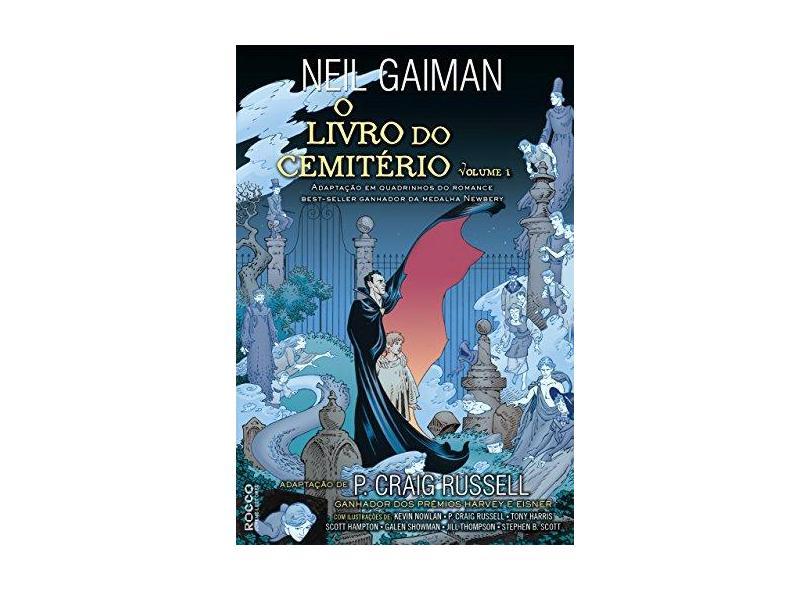 o Livro Do Cemitério - Vol. 1 - Gaiman, Neil - 9788579803864