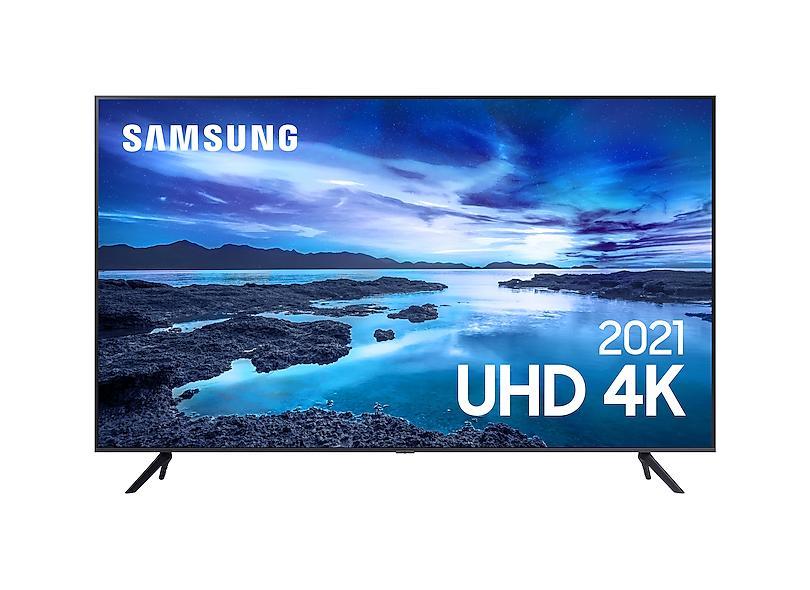 """Smart TV TV LED 43 """" Samsung Crystal 4K HDR 43AU7700 3 HDMI"""