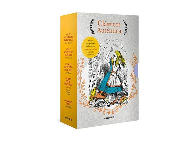 Caixa Clássicos Autêntica - Vol. 3 - Carroll,lewis - 9788551303726