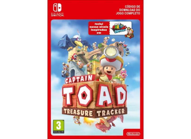 Jogo Captain Toad: Treasure Tracker Nintendo Nintendo Switch