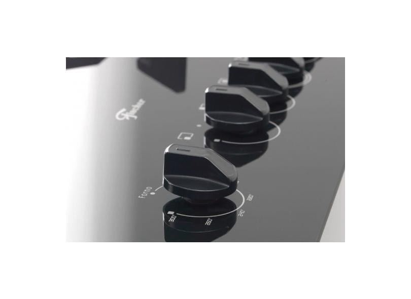 Fogão de Piso Fischer 5 Bocas Acendimento Automático Grill Gran Cheff