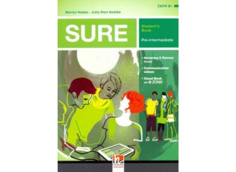 Sure Pre-Intermediate Sb + E-Zone - Helbling - 9783990450680