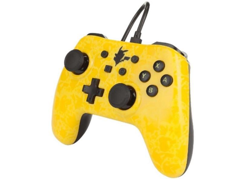 Controle Nintendo Switch Pikachu Silhouette - Power A