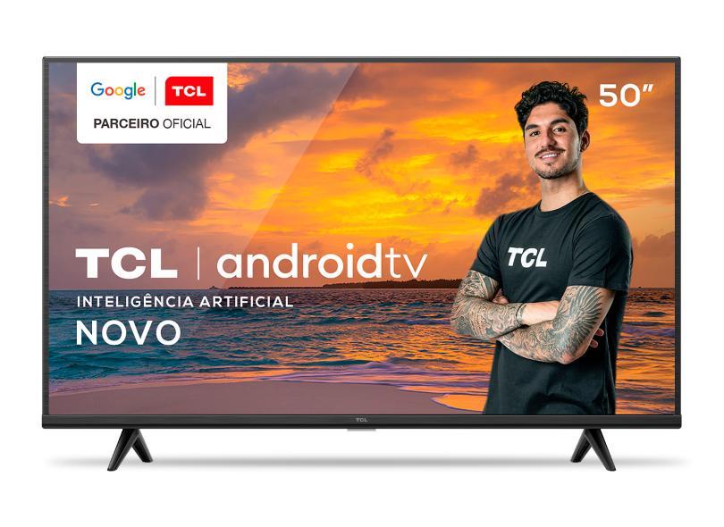 """Smart TV TV LED 50 """" TCL 4K HDR 50P615 3 HDMI"""