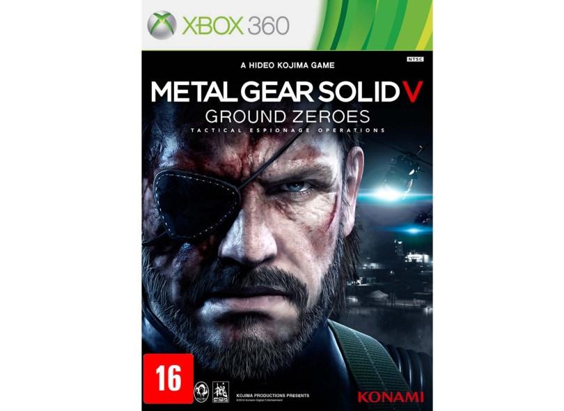 Jogo Metal Gear Solid V: Ground Zeroes Xbox 360 Konami
