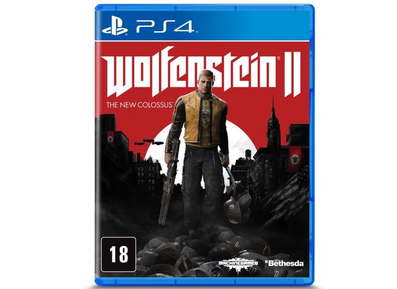 Jogo Wolfenstein II The New Colossus PS4 Bethesda