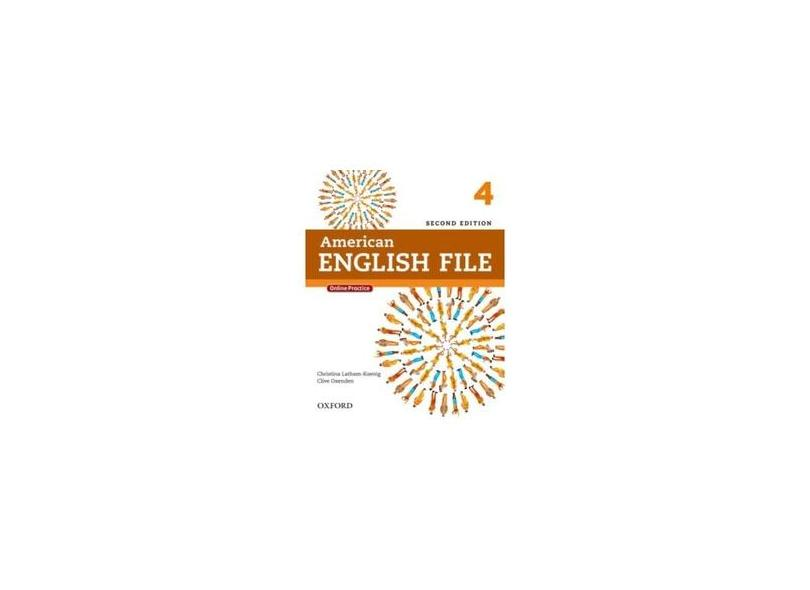 American English File 4 - Student Book With Itutor - 2ª Ed. - Oxford, Editora - 9780194776189
