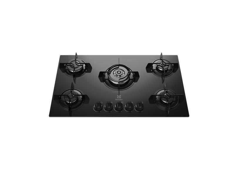 Cooktop Electrolux 5 Bocas Acendimento Superautomático KE5TP