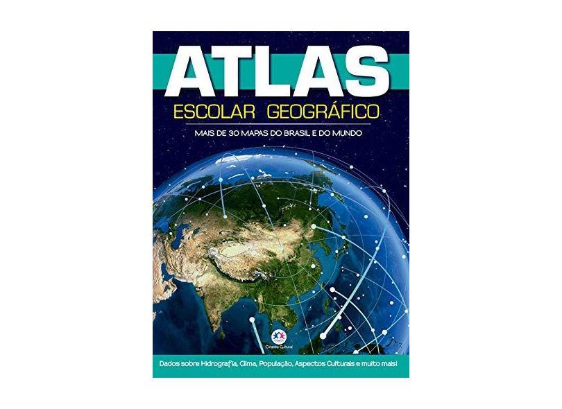 Atlas Escolar Geográfico - Ciranda Cultural - 9788538075110