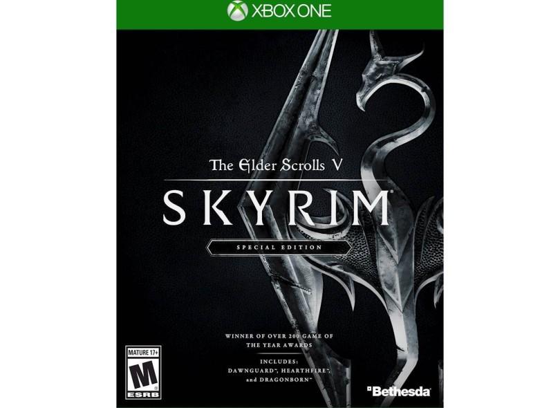 Jogo The Elder Scrolls V Skyrim Special Edition Xbox One Bethesda