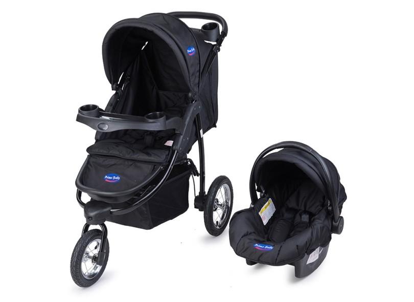 Carrinho de Bebê Travel System com Bebê Conforto Prime Baby Velloz