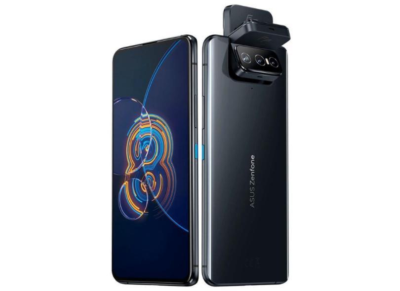 Smartphone Asus Zenfone 8 Flip ZS672KS 8GB RAM 128GB 64.0 + Câmera Tripla Frontal 2 Chips Android 11