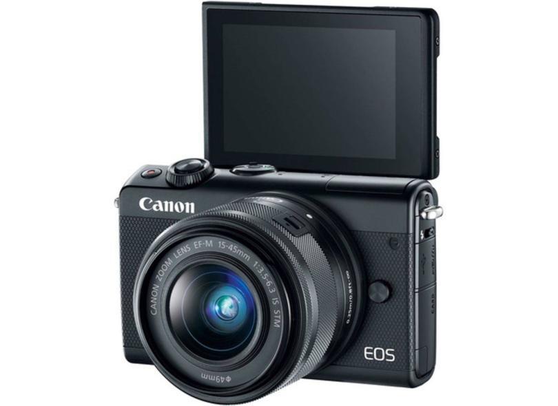Câmera Digital Canon EOS 24,2 MP Full HD EOS M100