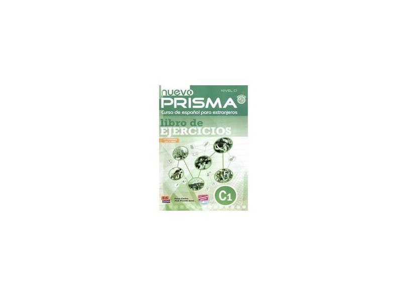 Nuevo Prisma Nivel C1 Ejercicios - Libro + CD - Editora Pearson - 9788498482553