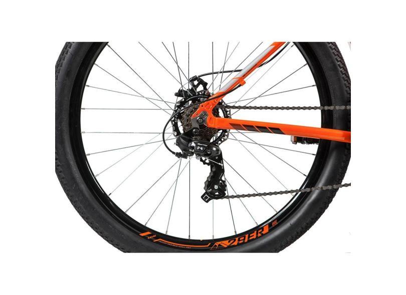 Bicicleta Mountain Bike Caloi 21 Marchas Aro 29 Suspensão Dianteira a Disco Mecânico Two Niner Alloy