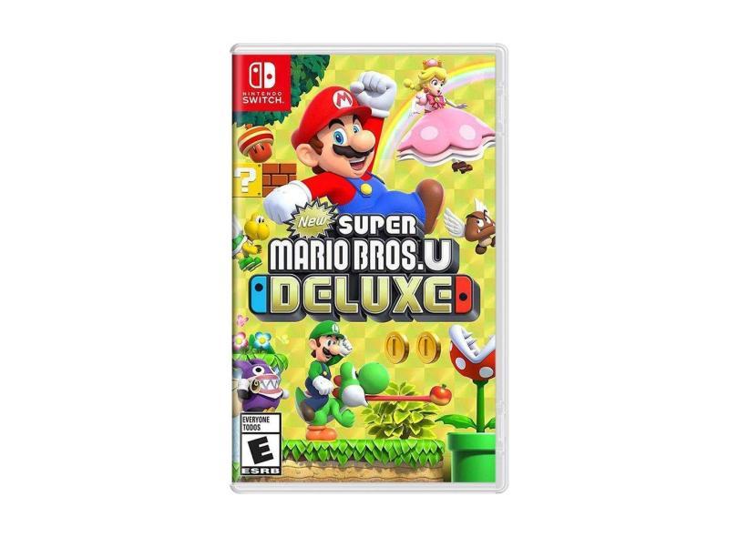 Jogo Super Mario Bros. U Deluxe Nintendo Nintendo Switch