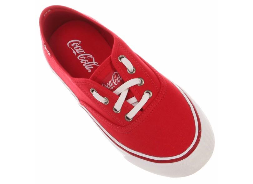 Tênis Coca-Cola Unissex Casual Primal Kick Summer
