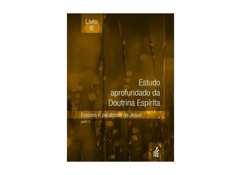 Estudo Aprofundado Da Doutrina Espirita - Livro 3 - Capa Comum - 9788573287721