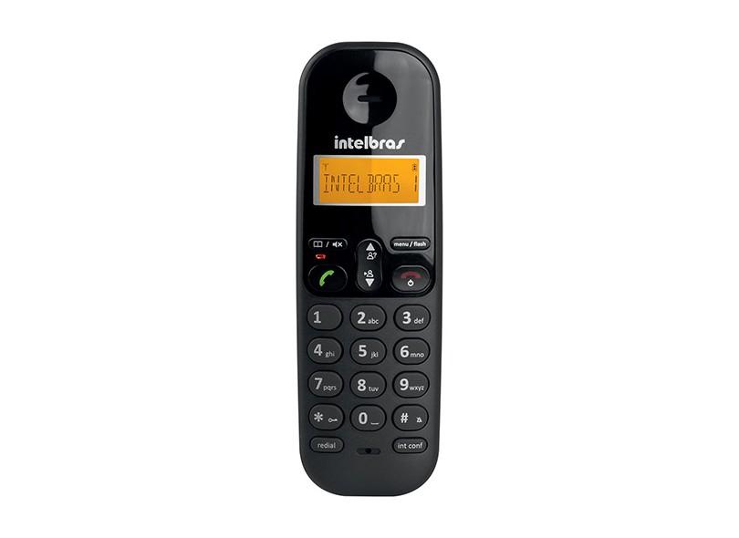 Telefone sem Fio Intelbras com 1 Ramal TS 3112