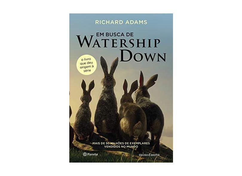 Em busca de Watership Down - Richard Adams - 9788542215793